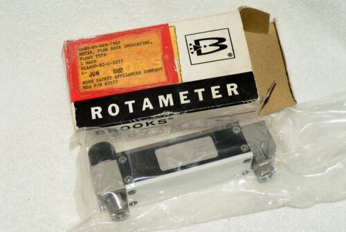 BROOKS ROTAMETER NEW IN OPEN BOX - MSA P/N 87177