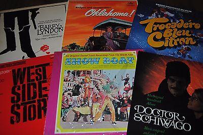 LOT 30 X LP VINYL *ORIGINAL SOUNDTRACK RECORDING / BANDE ORIGINAL DE FILM* (BO)
