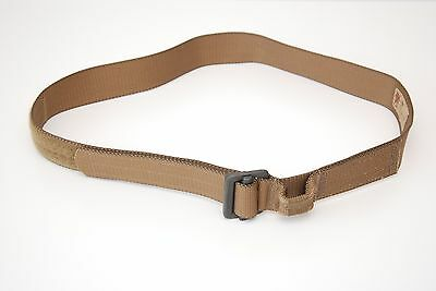 LBT Coyote Brown Rigger's Belt With Extraction Loop Large NEW Rappel SHIPS FREE