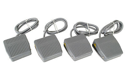 4 Pcs Temco Foot Switch 10a Spdt No Nc Electric Pedal Momentary Control New Lot
