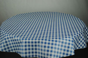 Round Wipe Clean Tablecloth - PVC oilcloth - All Designs & Sizes