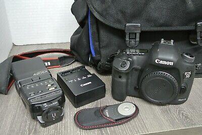 Canon EOS 5D Mark III 22.3MP Digital SLR Camera Body - NO LENS
