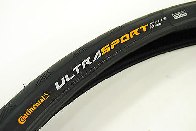Continental Road Tire (Continental Ultra Sport II Road Bike Tire 27x1-1/8 )