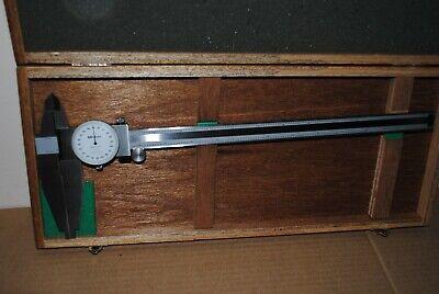 Mitutoyo 12 Inch Dial Caliper No. 504-404- Dcn 12 Long Jaws