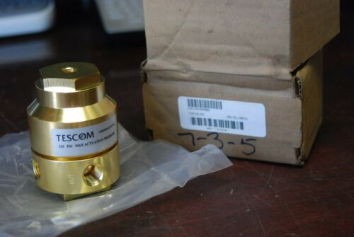 Tescom  VAC1AV9ABBB,  125psi Pressure Actuator , Brass, 12416142,    New in Bag