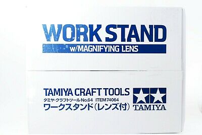 Tamiya craft tool series No.64 workstands lens with plastic 74064 w/Track