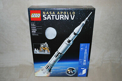 LEGO New 21309 Ideas NASA Apollo Saturn V New Sealed Box NISB INSURED SHIPPING