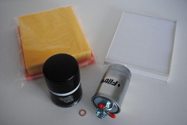 Inspektionspaket Inspektionskit Filterset VW Caddy 1 Typ14 1,6D 40KW 55PS ME,JK