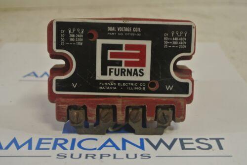 FURNAS D71221-32 Dual Voltage Coil 240 or 480 Volt