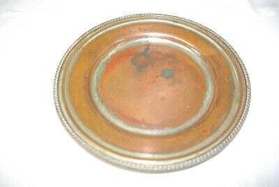 Antique Georgian  Old Sheffield Silver Plate on Copper 7.75