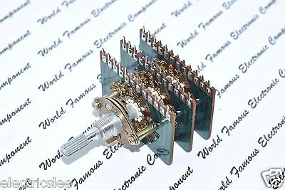 1pcs - Teikoku Tsushin Rotary 3-wafer 6-pole 4-position Ccl7acb Select-switch