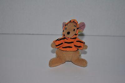 2000 McDonald's The Tigger Movie Roo in Tigger Costume Key Clip Toy