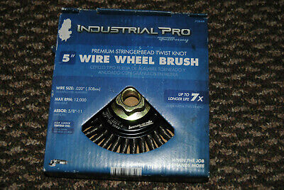 5 Forney 72849 Wire Wheel Brush Industrial Pro