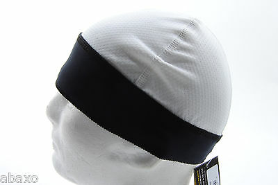 Halo Headband Skull Cap - White