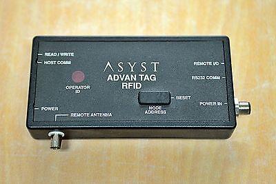 Asyst Advantag Rfid Reader Atr9000 9700-6584-01 Free Ship