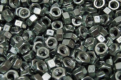 - (500) Centerlock 5/16-18 Hex Nuts - Reversible Locknuts Zinc Plated