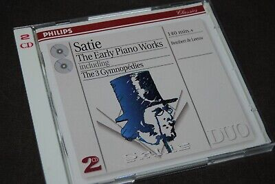 SATIE - THE EARLY PIANO WORKS - DE LEEUW DOUBLE CD / PHILIPS - 462 161-2 / 1998