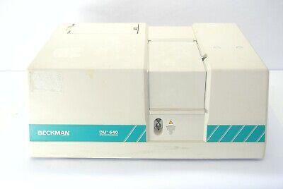 Beckman Du 640 Uvvis Spectrophotometer
