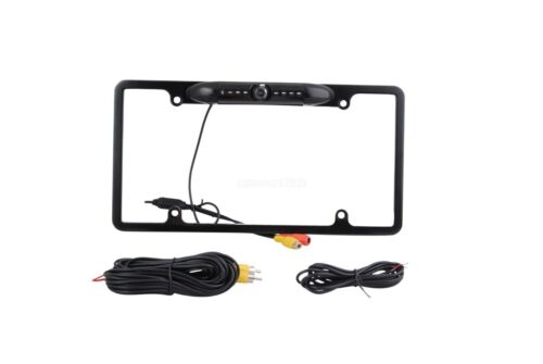 For Nissan USA License Plate Frame Car Backup Camera IR