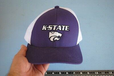 Kansas State Wildcats Pacific Headwear Purple White