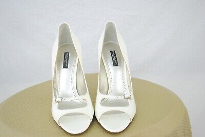Dolce & Gabbana Womens High Heel Shoes - Mint Condition - Size 38 - Bridal