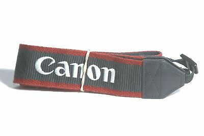 Canon EOS Digital Navy / Red / White Stitch Camera Neck Strap For SLR / DSLR