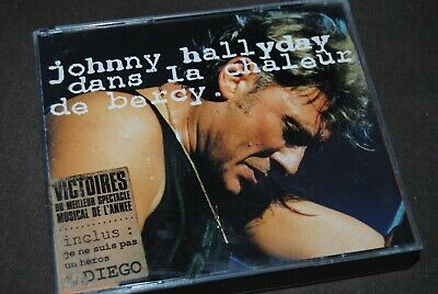 "JOHNNY HALLYDAY ""Dans La Chaleur De Bercy"" DOUBLE CD / PHILIPS - 848334-2 / 1991"