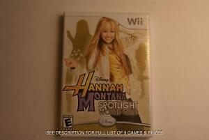 9 GREAT Wii Games!  Great Prices! Classic Titles!  Lots of fun!