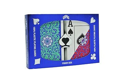 New COPAG Neoteric 100% Plastic Playing Cards Poker Jumbo FREE CUT