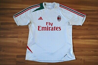 SIZE L AC MILAN 2012/2013 TRAINING FOOTBALL SHIRT JERSEY MAGLIA ADIDAS FORMOTION