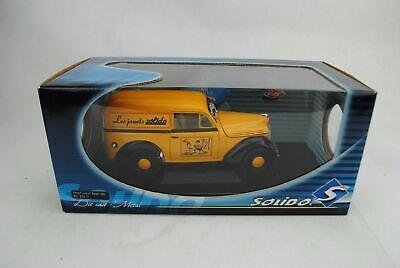 1:18 Solido 8424.01 Renault Juva 4 Solido 1952 Amarillo Rareza