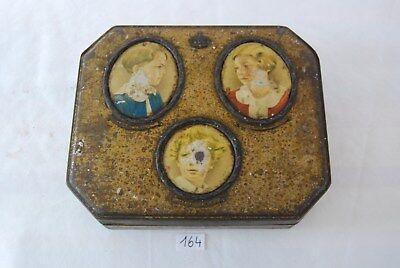 C164 Ancienne boite en métal publicitaire - Royauté - Côte d'or