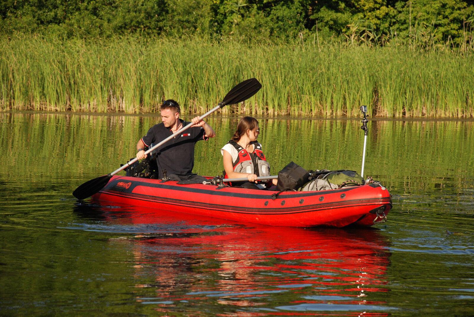 KARDINAL K430 SL Kajak Kaboat Motorkajak Schlauchboot Hunter Explorer Kayak