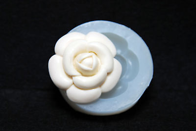 Camellia, Silicone Mold Chocolate Polymer Clay Jewelry Soap Melting Wax Resin