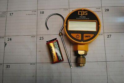 Cps Products Vg200 Digital Vacrometer Vacuum Gauge With Digital Display