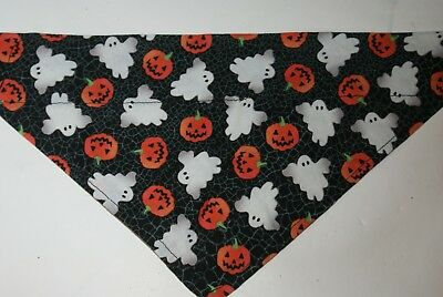 L Halloween (Dog Bandana, OVER THE COLLAR,clothes, Size S,M,L,XL, Halloween)