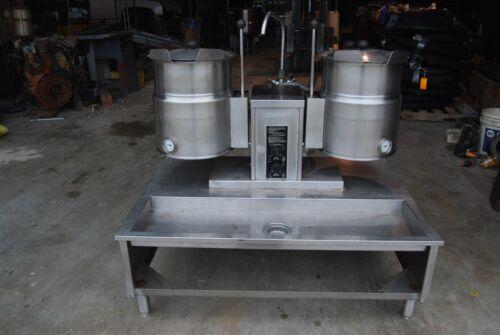 Cleveland Dual Steam Kettle