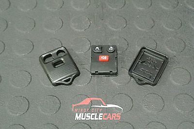 NEW 1998-2011 Ford F150 3 Button Keyless Entry Key Fob Remote Case / Shell
