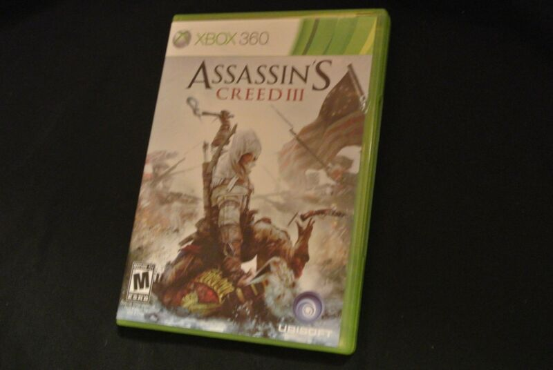 Assassin's Creed III Video Game (Xbox 360, 2012) M-Mature