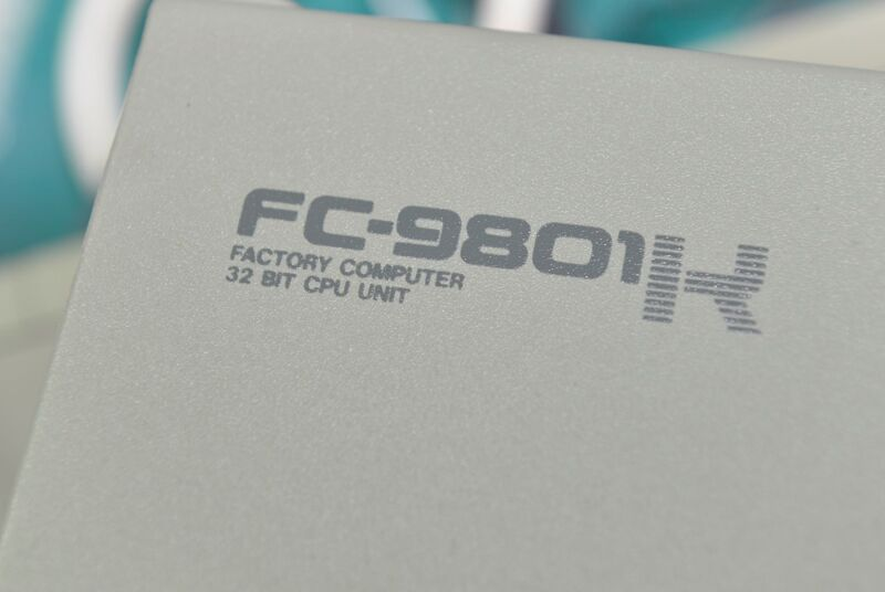 Nec Factory Computer Fc-9801k, 32bit Cpu Unit Working