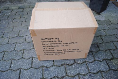 Original Air Berlin Baby Kit Karton Neu! Baby Ausstattung
