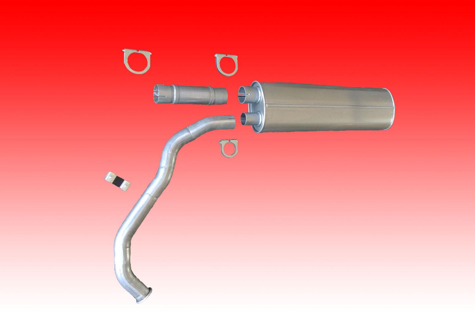 Auspuff Abgasanlage passend für Mercedes Benz LK 814 817 1117 LN2  komplett