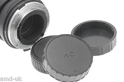 Olympus OM fit Rear Lens Dust Cap Cover -Camera Lenses - Olympus OM SLR Lenses