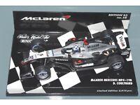 1:43-56 D COULTHARD-Edition Minichamps-f1 McLaren MERCEDES MP 4-19