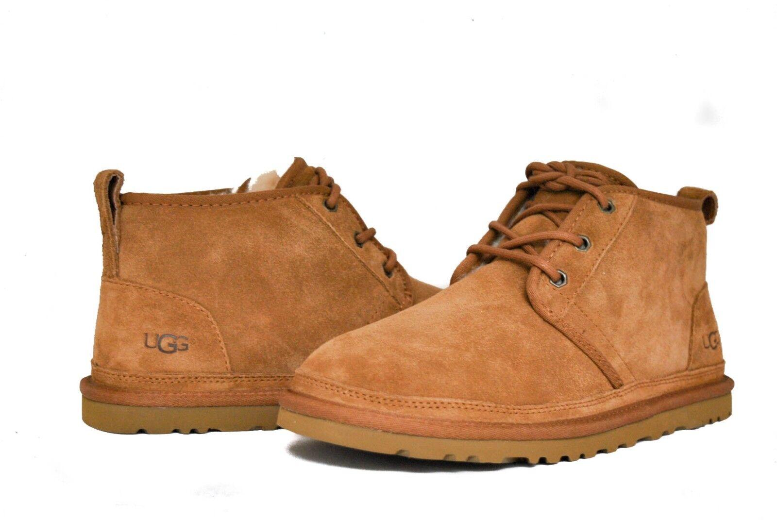 Boots - UGG Australia Men's Neumel 3236 Shoes Chestnut Suede NEW Sz 5-15