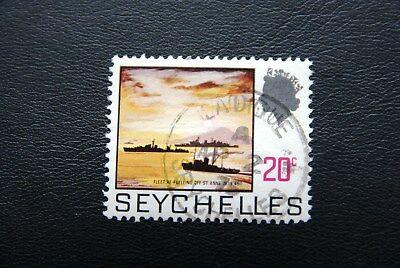 Seychellen, Kriegsschiffe (gestempelt)