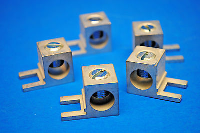 Lot Of 5 Add On Lug For Equipment Ground Bar 14awg - 20 Awg Copper Aluminum