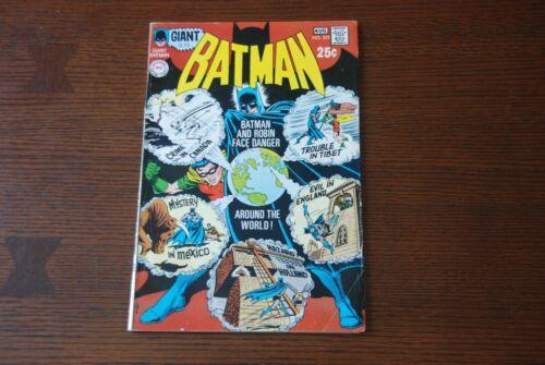 Batman 223 VG/FN Bronze Age comic featuring Robin!