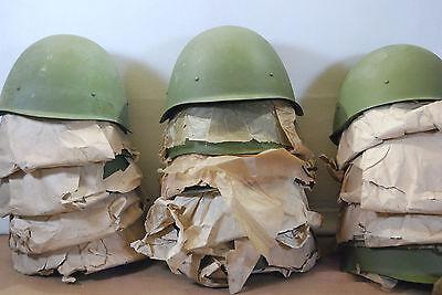 Russian WWII M40 SSH40 Steel Helmet , Soviet , Polish Size P2