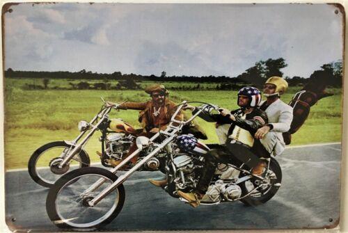 Easy Rider Harley Chopper Tin Sign (Man Cave Fonda Panhead Shovel Knuckle)